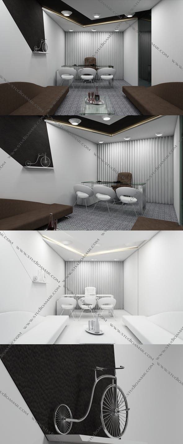 Realistic MD Room 137 - 3DOcean Item for Sale