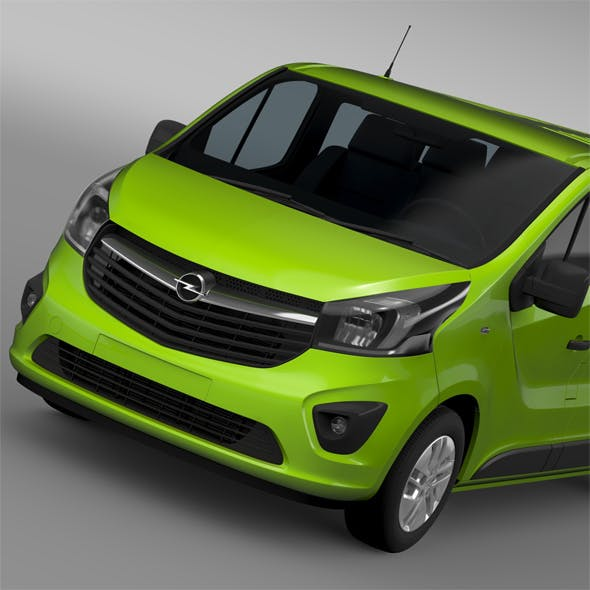 Opel Vivaro Window Van 2015 L2H1