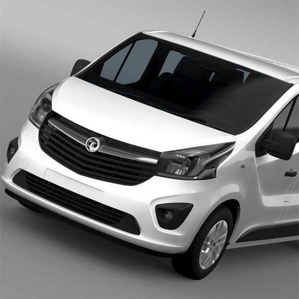 Vauxhall Vivaro Window Van 2015 L2H1