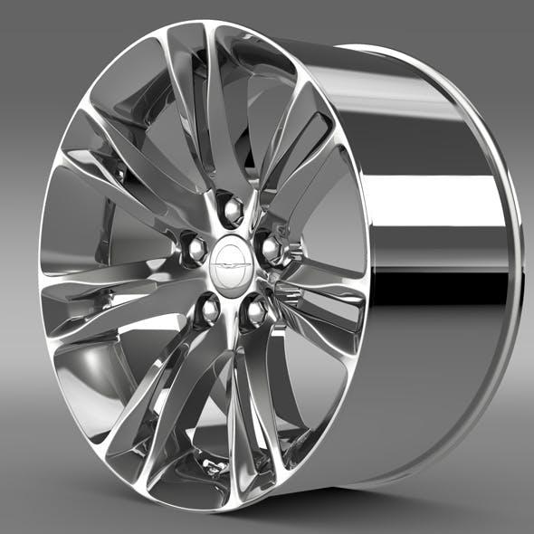 Chrysler 300C 2015 rim - 3DOcean Item for Sale