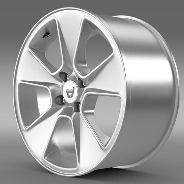 Dacia Logan rim - 3DOcean Item for Sale