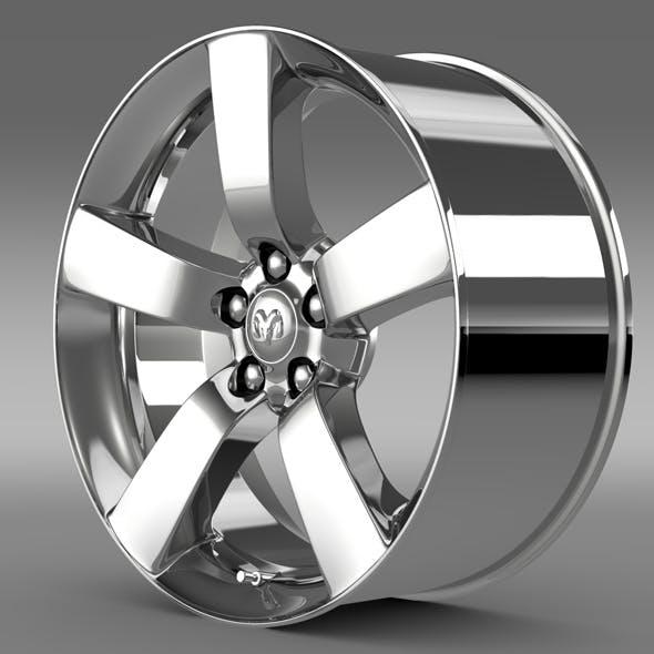 Dodge T rim - 3DOcean Item for Sale