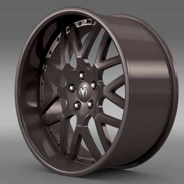 Dodge Vin Diesel Car rim - 3DOcean Item for Sale