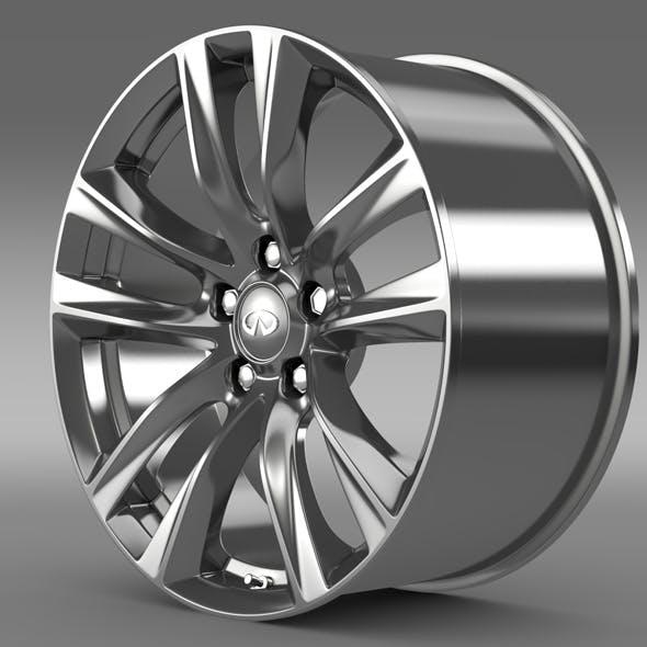 Infiniti Q70 Hybrid rim 2015 - 3DOcean Item for Sale