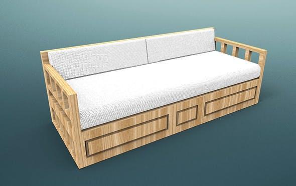 Sofa Otantic Traditional - Sark Kosesi - 3DOcean Item for Sale