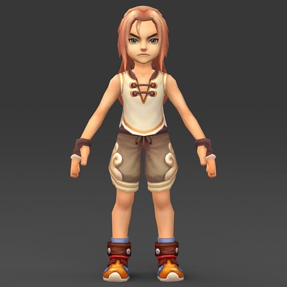 Cartoon Character Chuli - 3DOcean Item for Sale