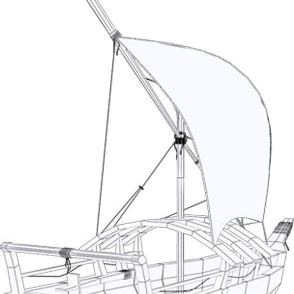 Low Poly Ship 4 Model