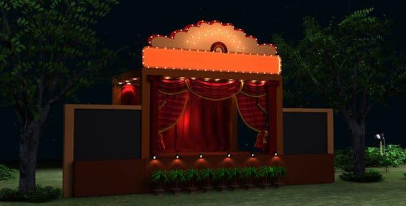 Wedding Stage Model - 3DOcean Item for Sale