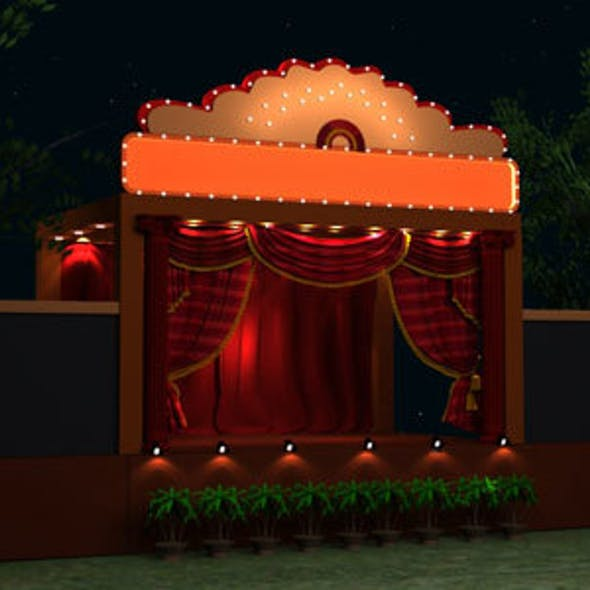 Wedding Stage Model