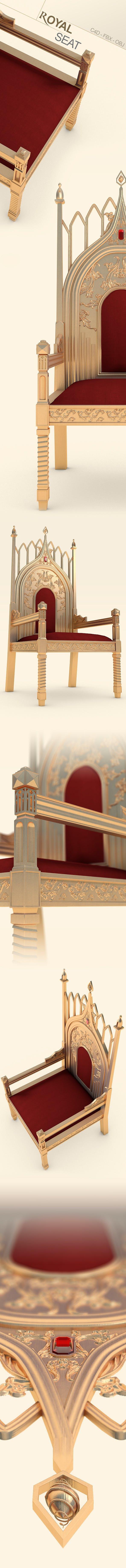Royal Seat - 3DOcean Item for Sale
