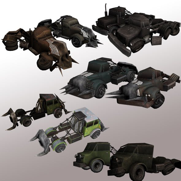 Trucks with Armor package