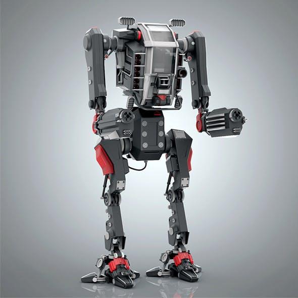 Battle Robot - 3DOcean Item for Sale