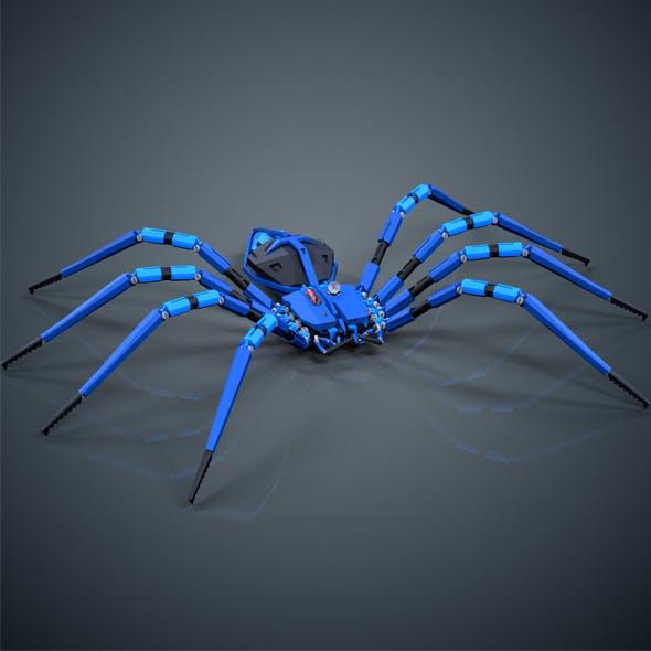 Robotic Spider - 3DOcean Item for Sale