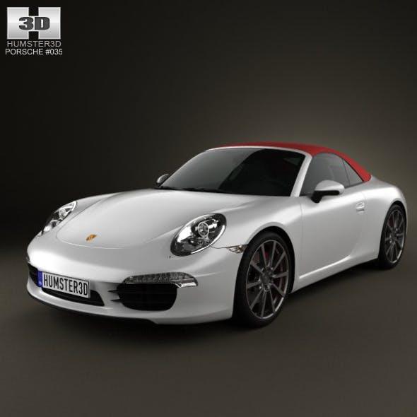 Porsche 911 Carrera S Cabriolet 2012