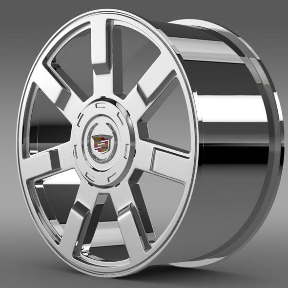 Cadillac Escalade esv 2wd2 rim - 3DOcean Item for Sale