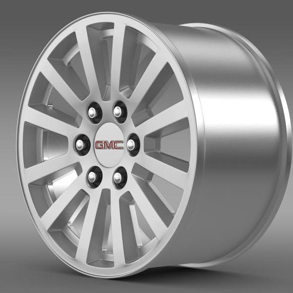 GMC Yukon Hybrid 2012 rim - 3DOcean Item for Sale