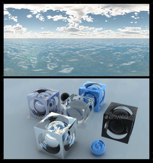 Ocean Blue Clouds 6 - HDRI - 3DOcean Item for Sale