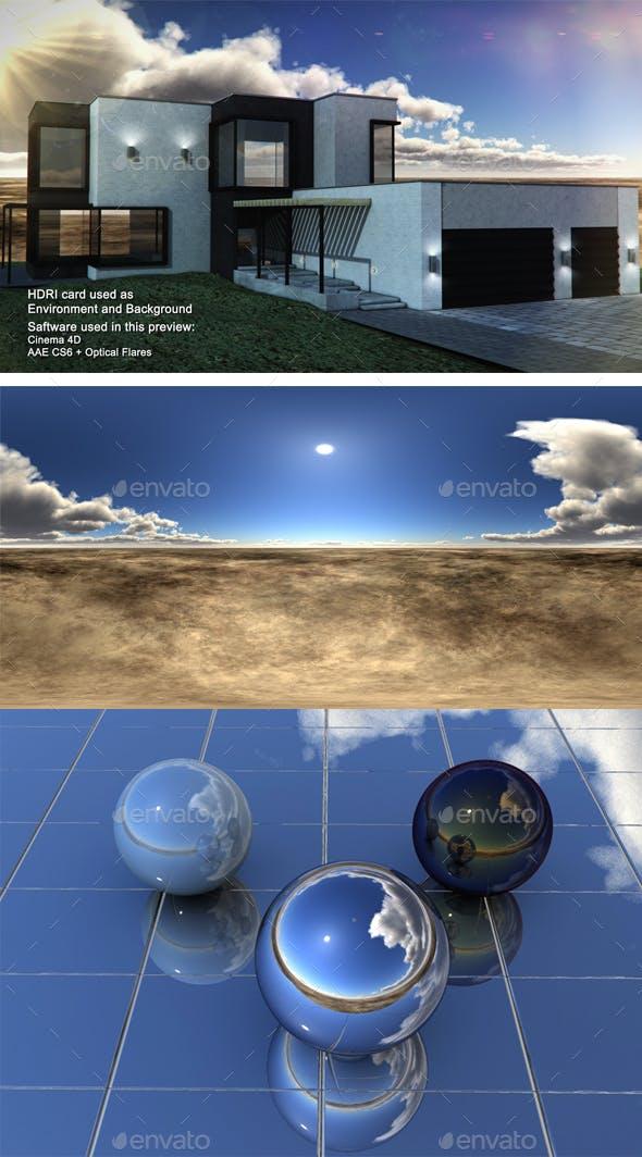 Dusk Desert 8 - 3DOcean Item for Sale