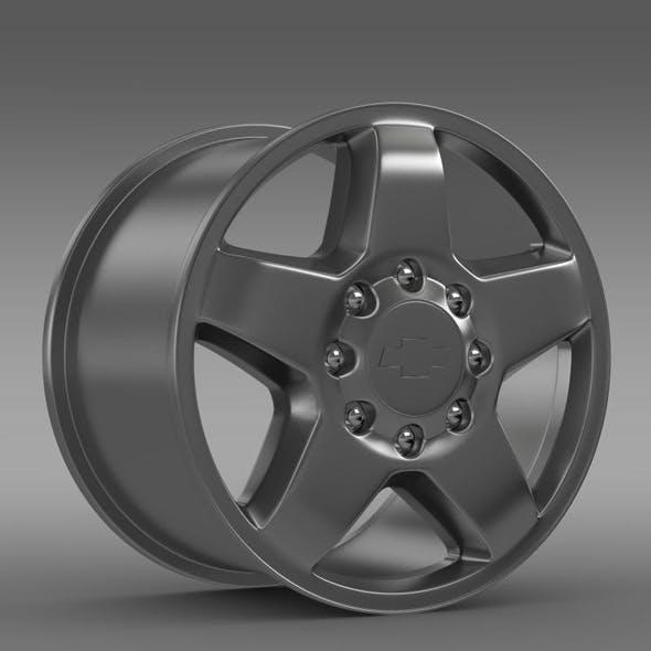 Chevrolet Silverado 2500HD LTZ 2011 rim - 3DOcean Item for Sale