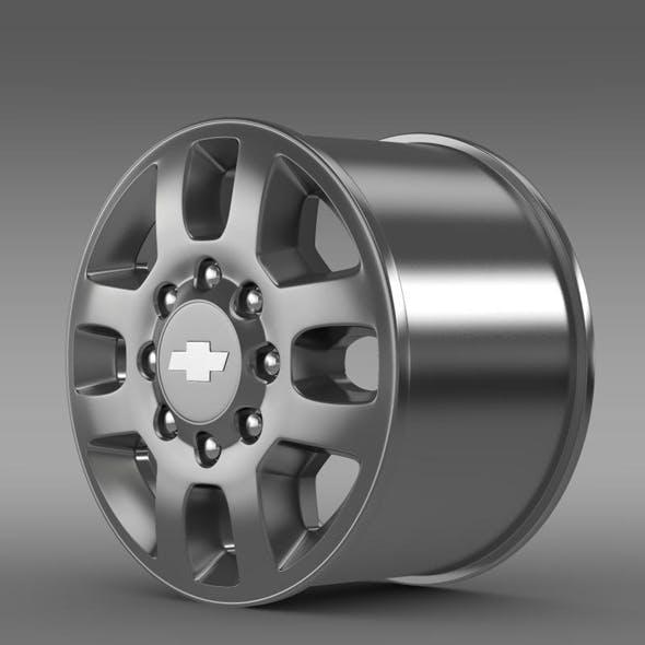 Chevrolet Silverado 3500HD 2012 rim - 3DOcean Item for Sale