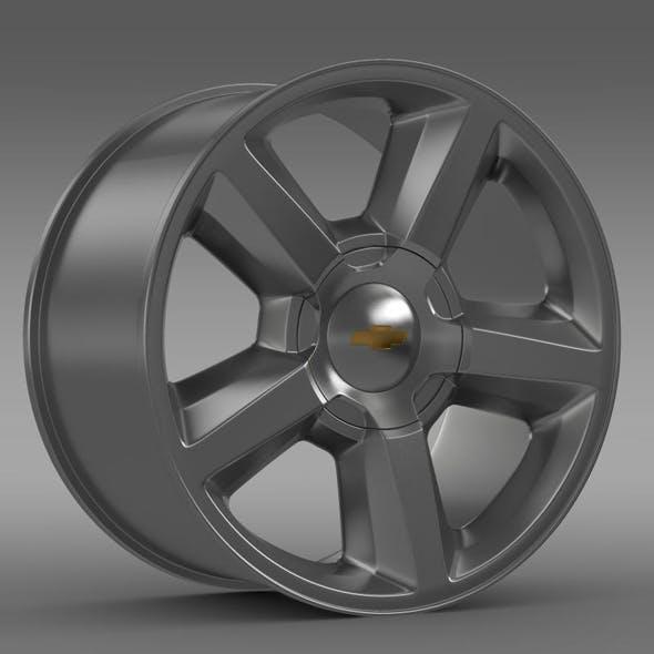 Chevrolet Tahoe 2008 rim - 3DOcean Item for Sale