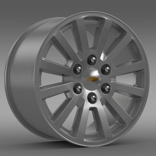Chevrolet Tahoe Hybrid 2012 rim - 3DOcean Item for Sale