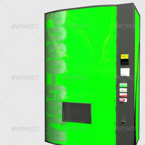 Low Poly Soda Machine