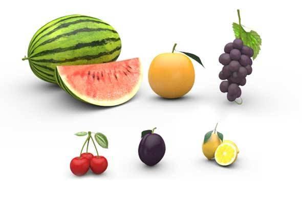 Fruit Pack 01 - 3DOcean Item for Sale