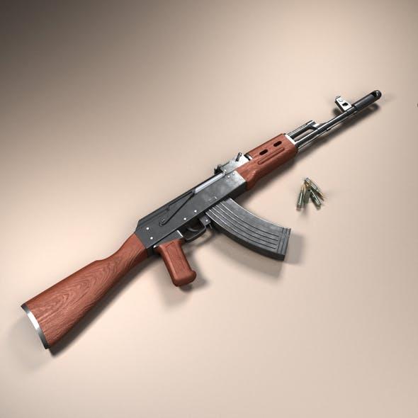 Assault rifle AK-74 - 3DOcean Item for Sale