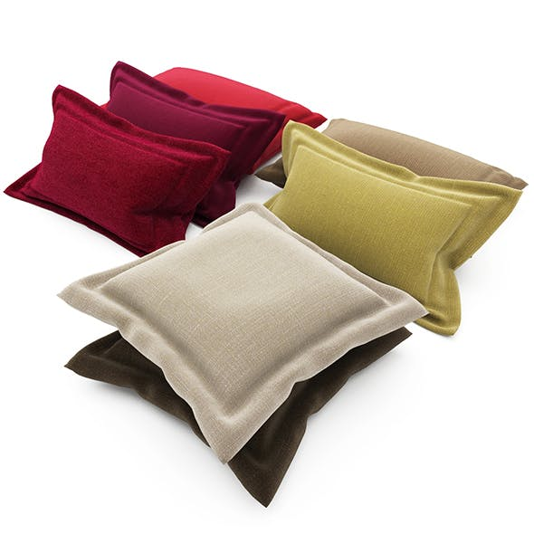 Pillows collection 92 - 3DOcean Item for Sale