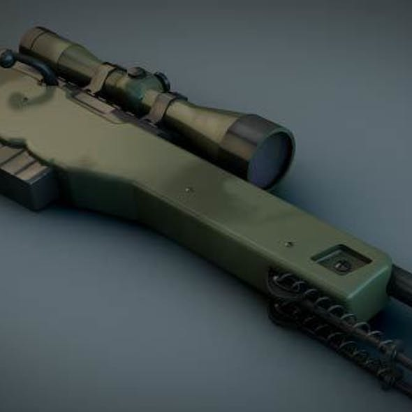 AWP Sniper rifle (CS GO)