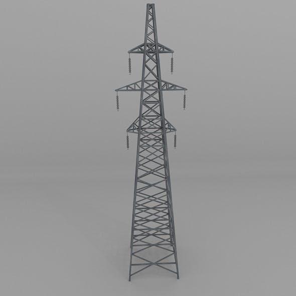 Column Power Lines - 3DOcean Item for Sale