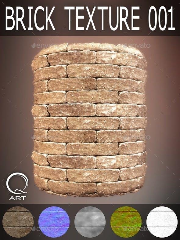 Brick Textures 001 - 3DOcean Item for Sale