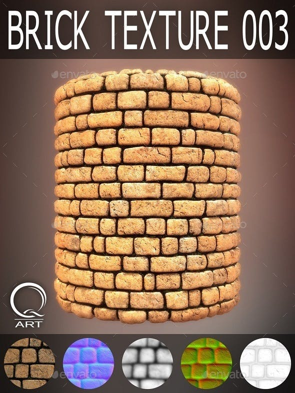 Brick Textures 003 - 3DOcean Item for Sale