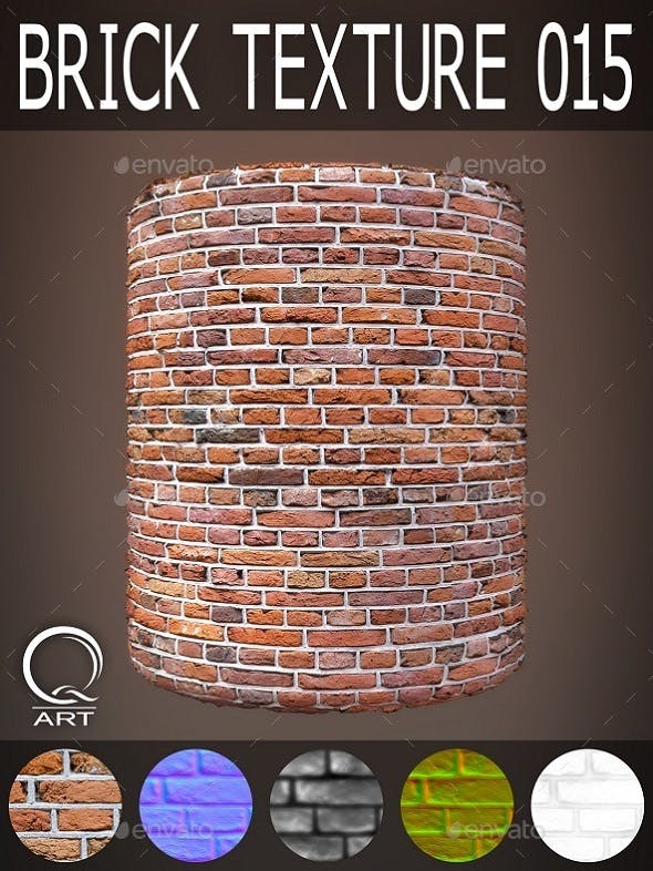 Brick Textures 015 - 3DOcean Item for Sale