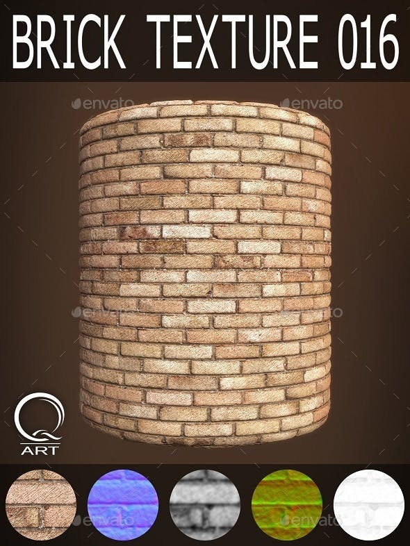 Brick Textures 016 - 3DOcean Item for Sale