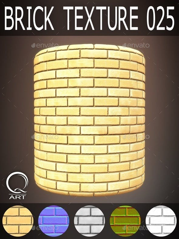 Brick Textures 025 - 3DOcean Item for Sale
