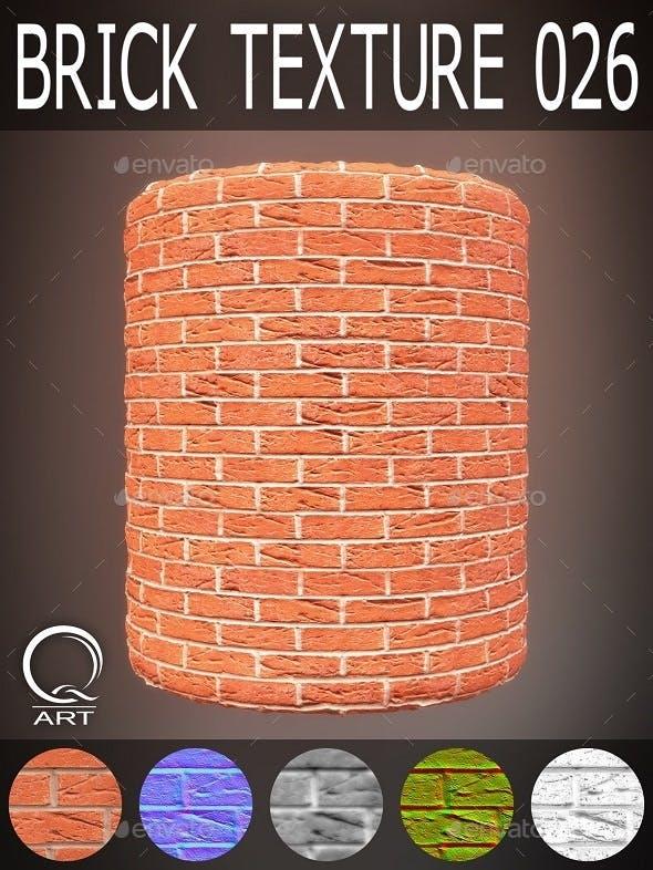 Brick Textures 026 - 3DOcean Item for Sale
