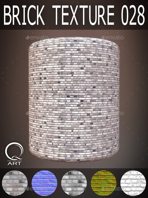 Brick Textures 028 - 3DOcean Item for Sale