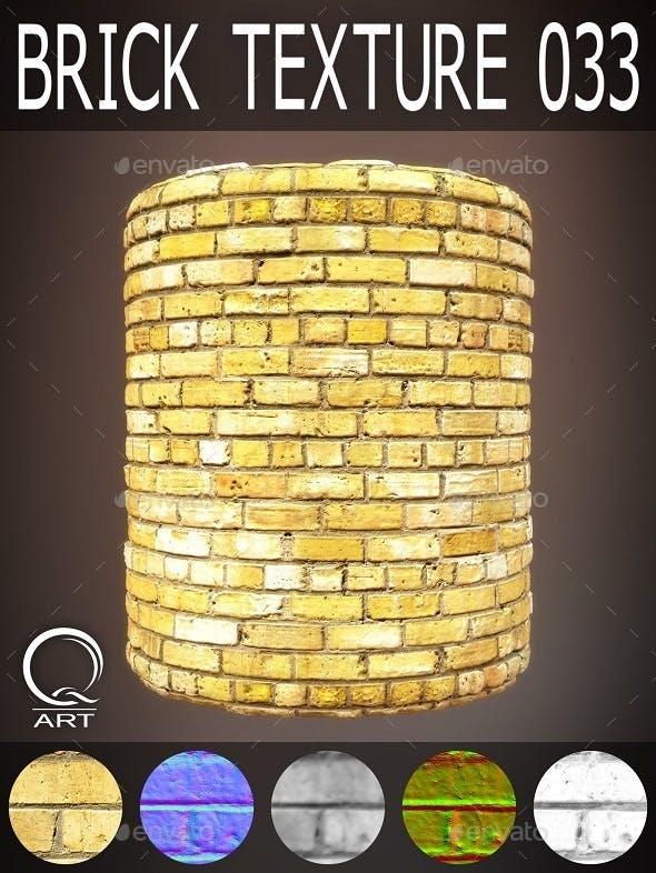 Brick Textures 033 - 3DOcean Item for Sale