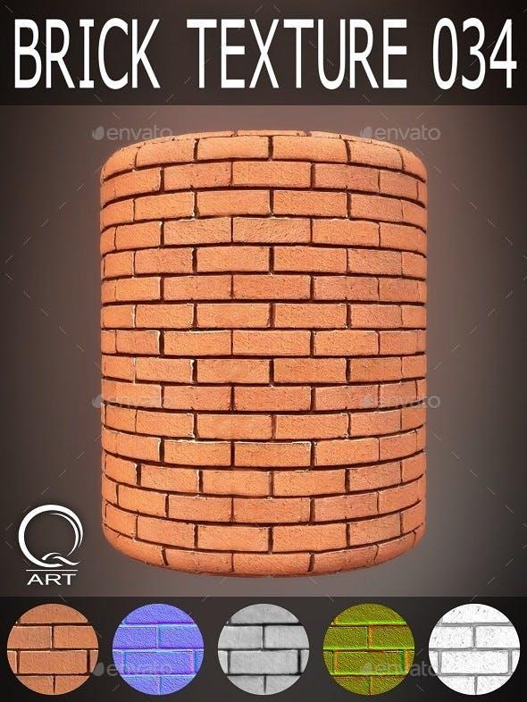 Brick Textures 034 - 3DOcean Item for Sale