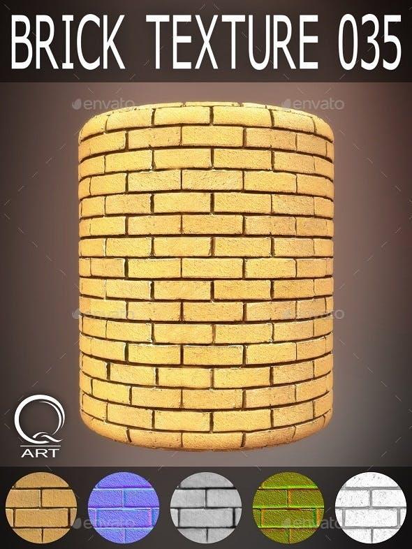 Brick Textures 035 - 3DOcean Item for Sale
