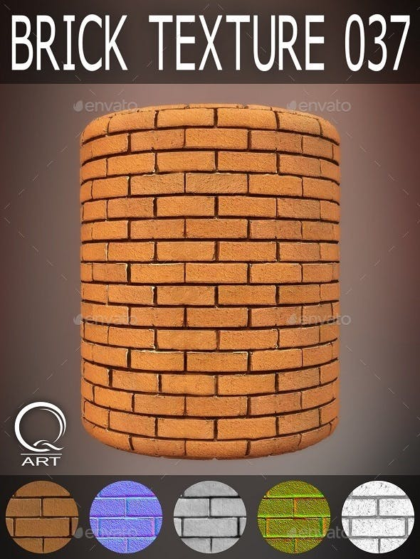 Brick Textures 037 - 3DOcean Item for Sale