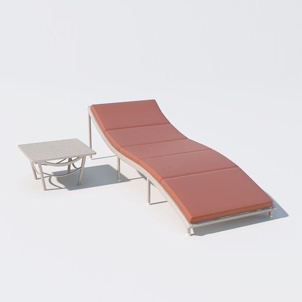 Sunbed 08 - 3DOcean Item for Sale
