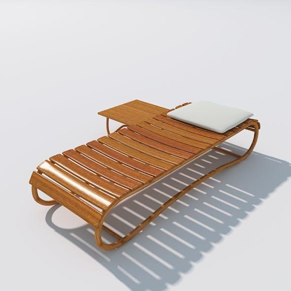 Sunbed 09 - 3DOcean Item for Sale