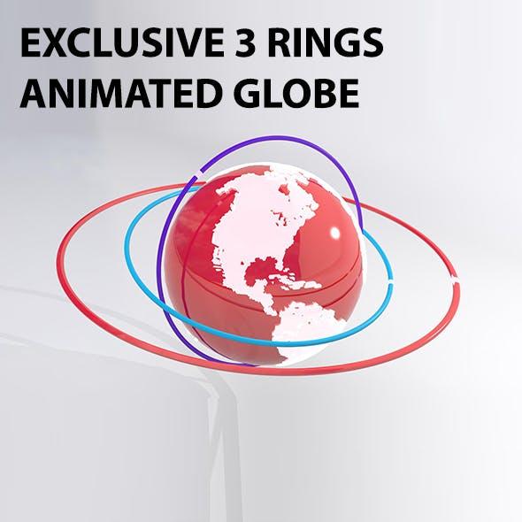 Exclusive 3D Globe Model