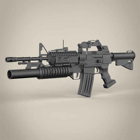 C15-M203 Machine Gun