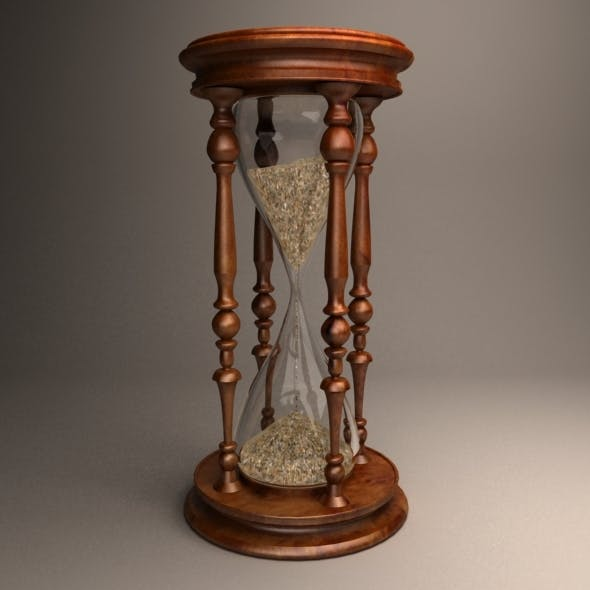 Sand clock - 3DOcean Item for Sale
