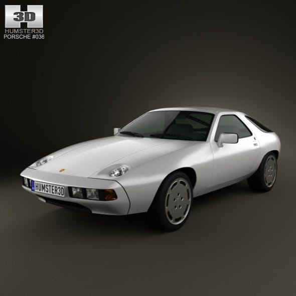 Porsche 928 1981 - 3DOcean Item for Sale