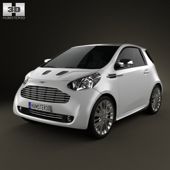 Aston Martin Cygnet 2012 - 3DOcean Item for Sale